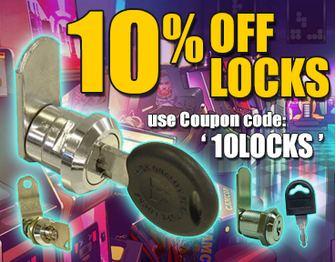 "10% off Locks! use Coupon Code ""10LOCKS"""