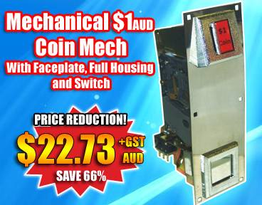 Australian Coin Mech Price Reduction - save 66%