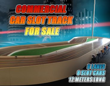 Commercial Car Slot Track For Sale