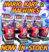 Mario Kart 2 Machines Now in Stock