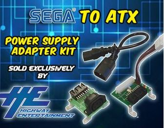 SEGA to ATX Power Supply Adapter kit