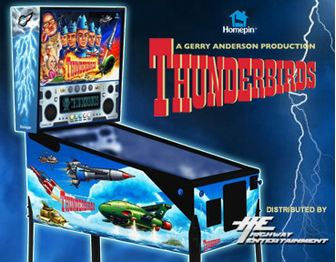 Thunderbirds Pinball Machine Special Price for Highway Customers