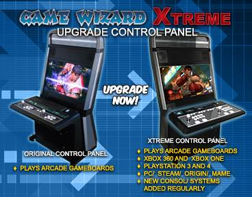 Xtreme Game Wizard Control Panel Upgrade