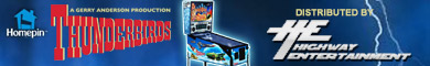 Homepin Thunderbirds Pinball for Sale
