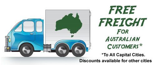 Free Freight for Australian Customers