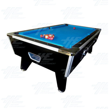 Coin Operated Pool Table 7ft Slate Galaxy