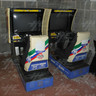 Sega Rally Twin Arcade Driving Machine (Missing Header)